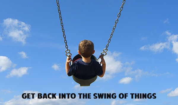 Caught Up in The Swing