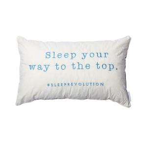 Sleep Your Way to the Top Pillow #sleeprevolution